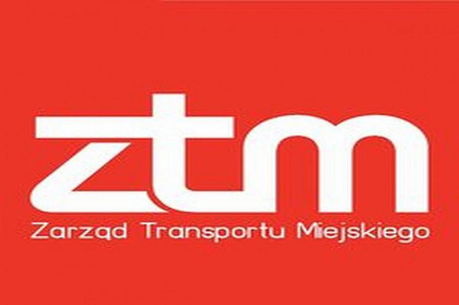 Nowe bilety i logo stołecznego ZTM