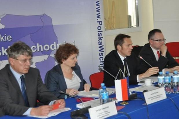 Sprawnie idzie rozwój Polski wschodniej