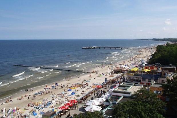 Plaża w Kołobrzegu już bez niewypałów