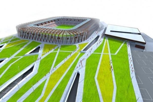 Prezydent o problemach z budową stadionu