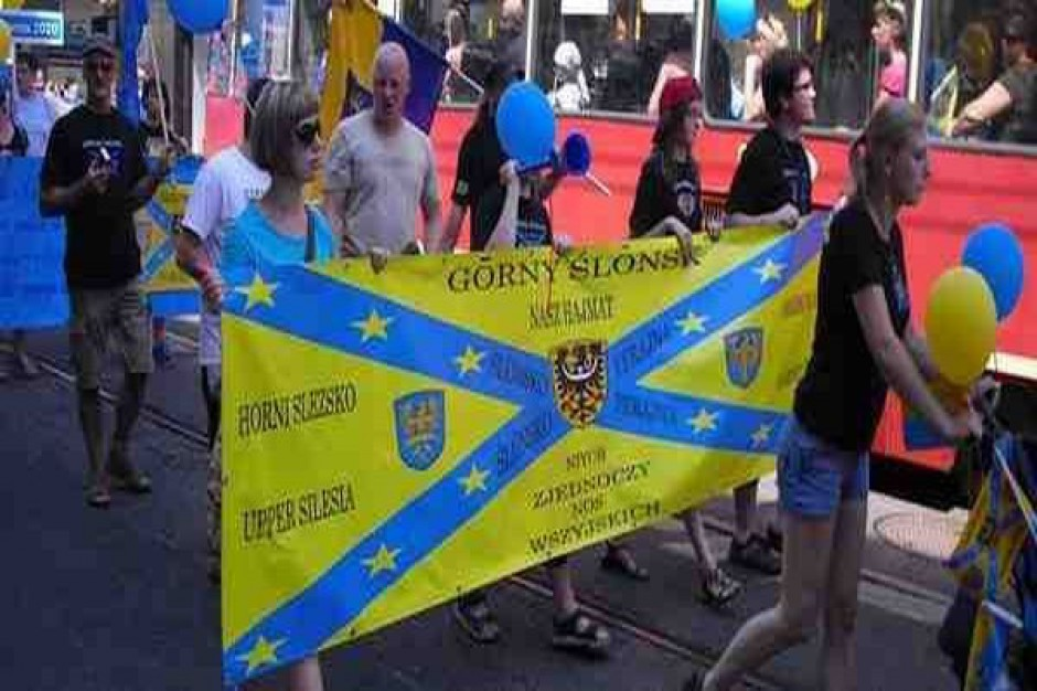 Marsz Gōrnoślōnskij Tożsamości w Mysłowicach