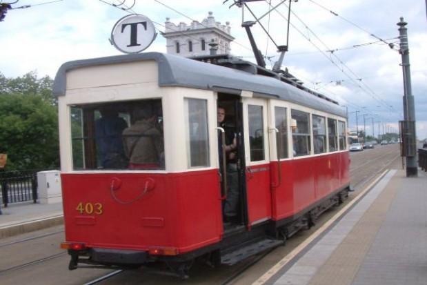 Zabytkowa linia tramwajowa w stolicy