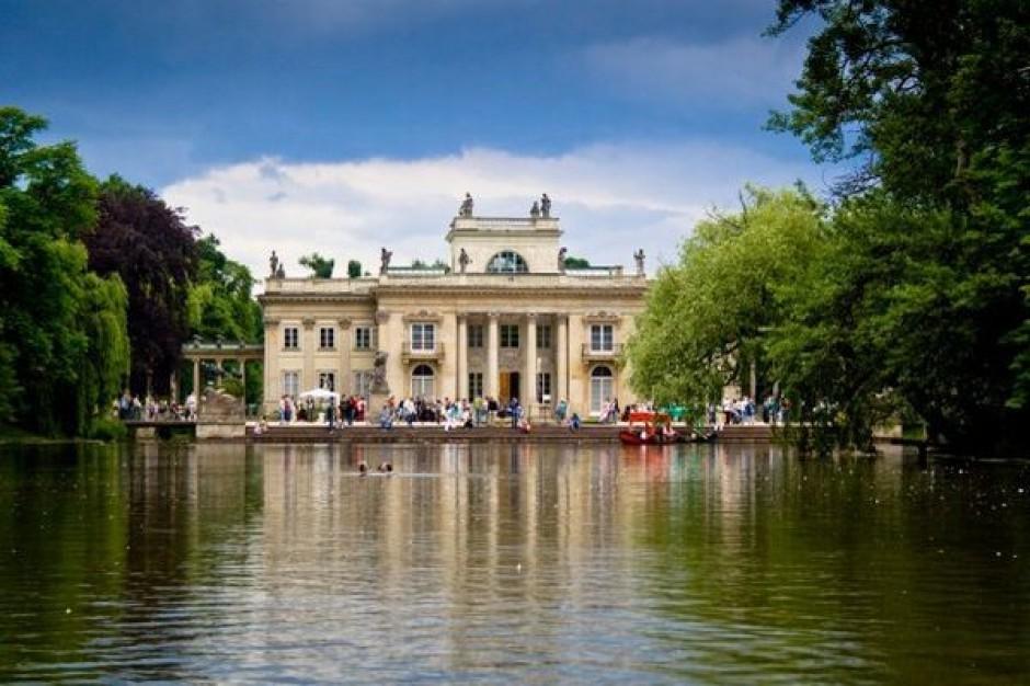 """Wystawa """"Artyści Europie"""" w Łazienkach"""