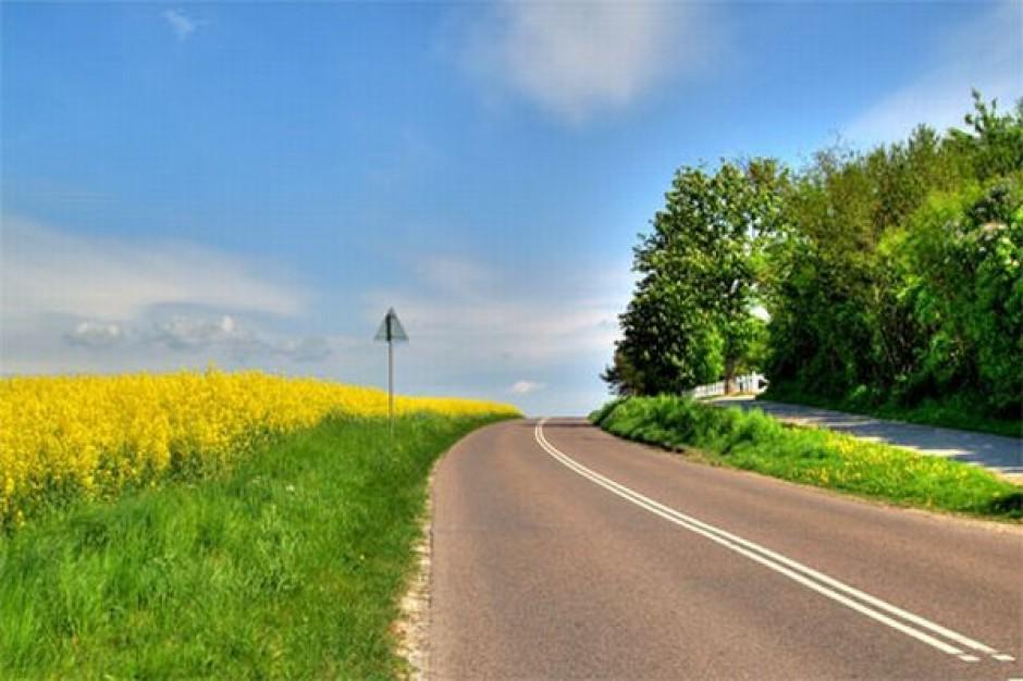 Remont odcinka drogi, biegnącej przez Trzebielino