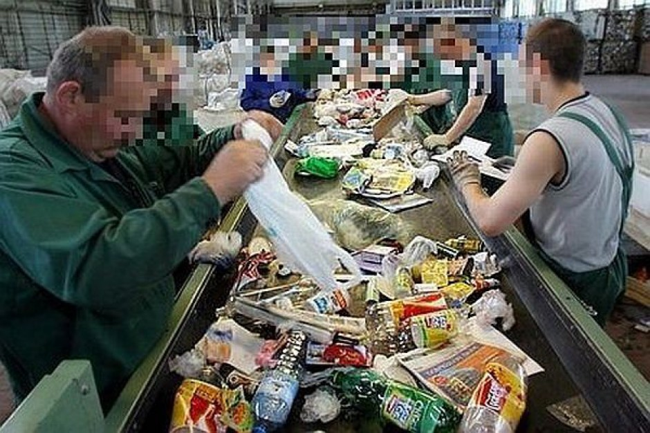 Przerobią góry śmieci