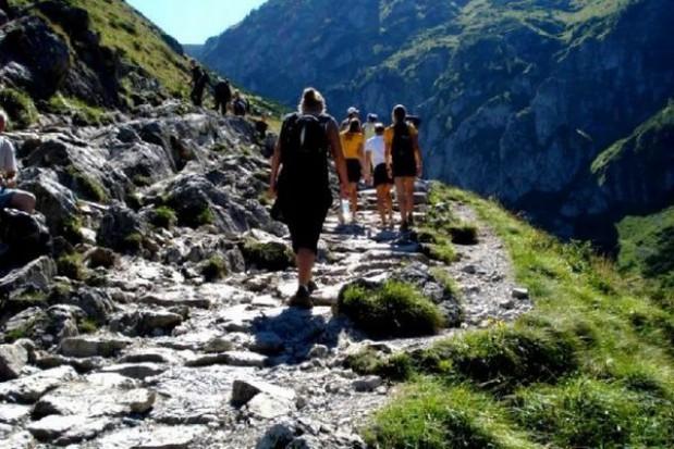A w Tatrach tłumy