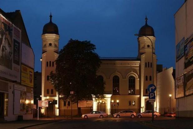 Renowacja synagogi na ukończeniu