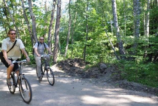 Więcej leśnych rowerowych ścieżek