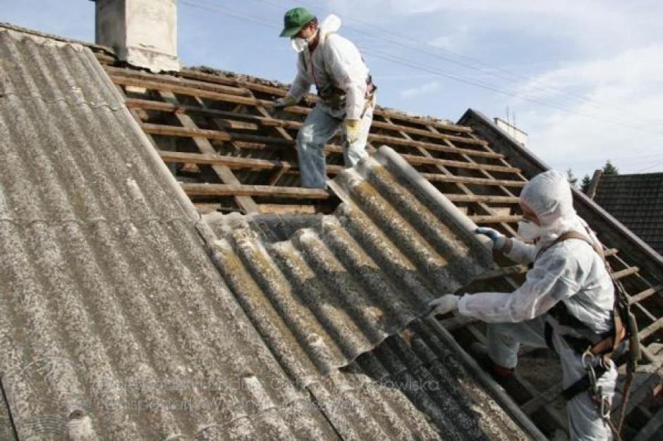 Warmia i Mazury wolne od azbestu