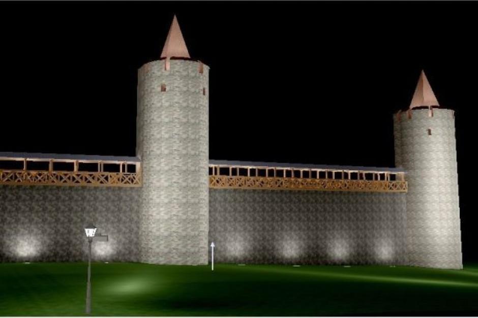 Polskie Carcassonne pięknie rozbłyśnie