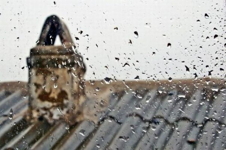Zbierają informacje o deszczówce