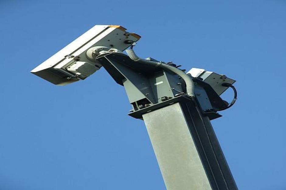 Chełmski stadion pod okiem kamery