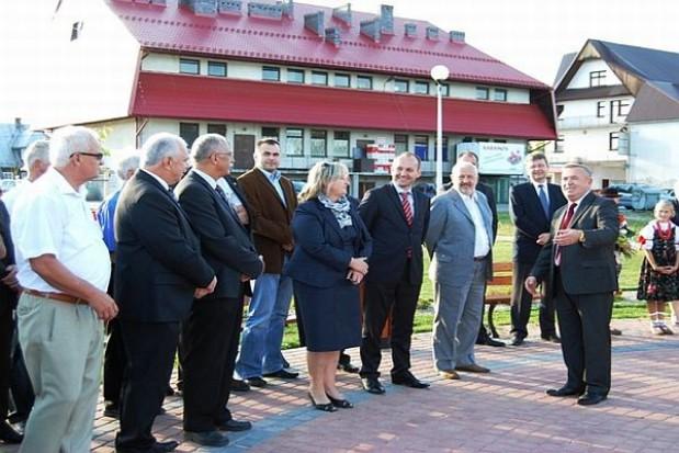 O inwestycjach w gminie Jabłonka