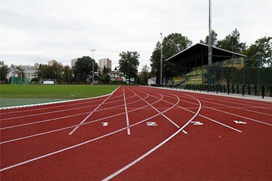 Otwarcie stadionu i boiska w Krośnie