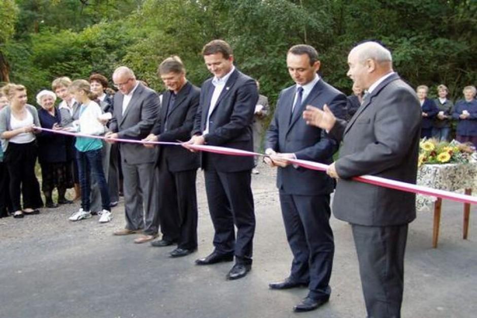 Nowe gminne drogi w łódzkim