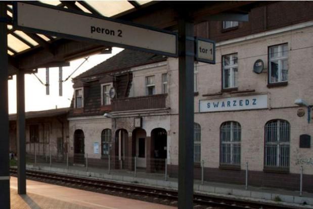 Remont dworca PKP w Swarzędzu