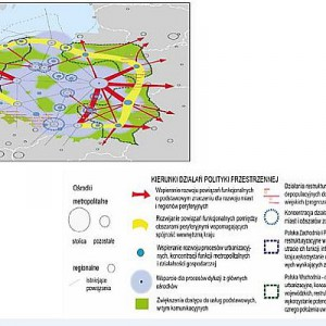 Koncepcja Przestrzennego Zagospodarowania Kraju (mapa nr 2)