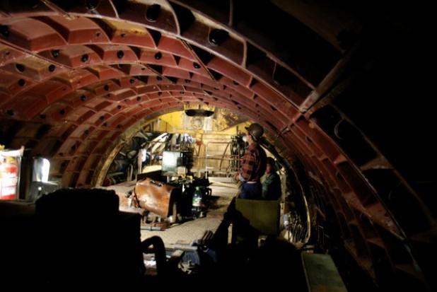 Tunel pod Martwą Wisłą w 2014