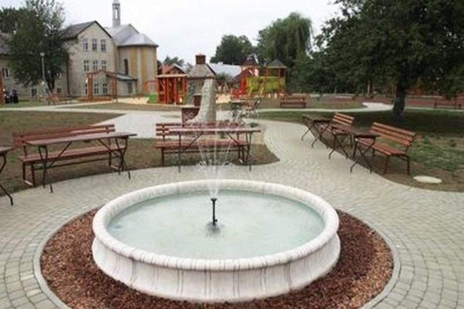 Ogród rekreacyjny cieszy w Iwoniczu