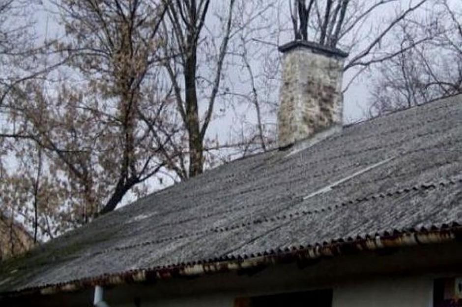 Lidzbark Welski pozbywa się azbestu