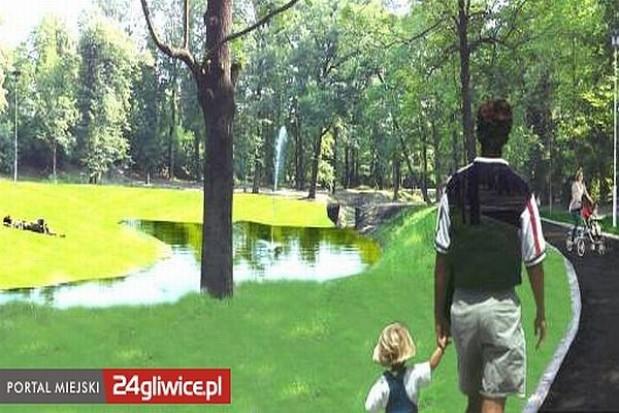 Prace nad modernizacją gliwickiego parku
