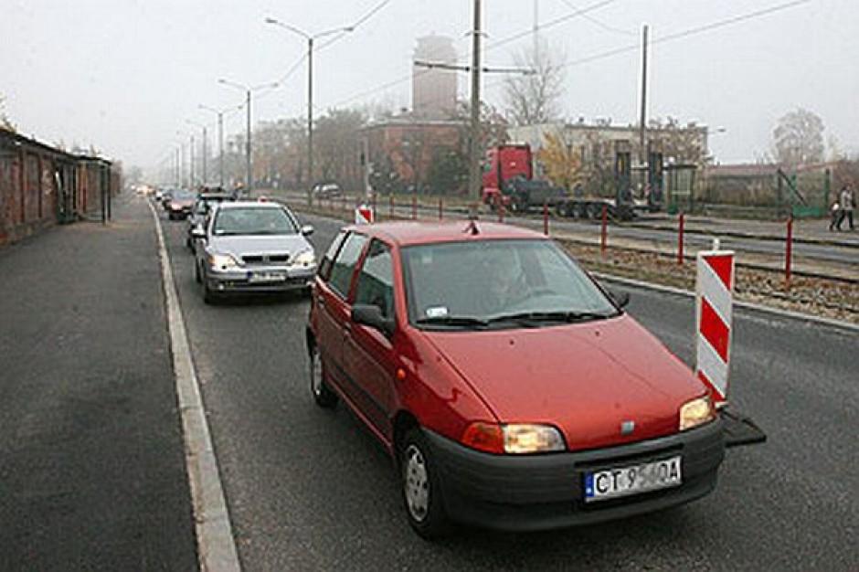 Przyspieszają na Lubickiej w Toruniu