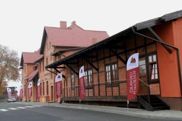 Dworzec w Drawsku Pomorskim gotowy