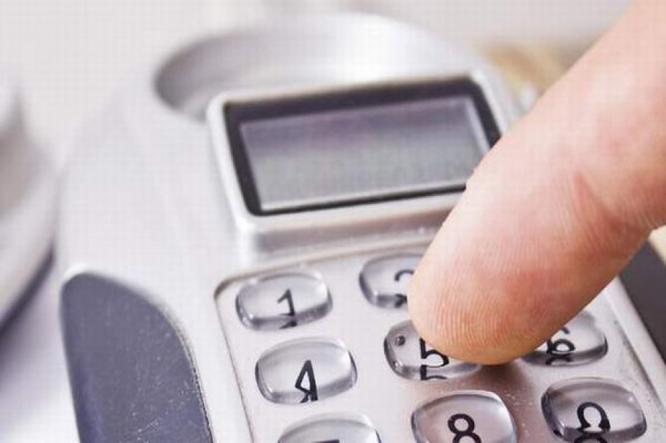 Telefon z informacjami dla bezdomnych