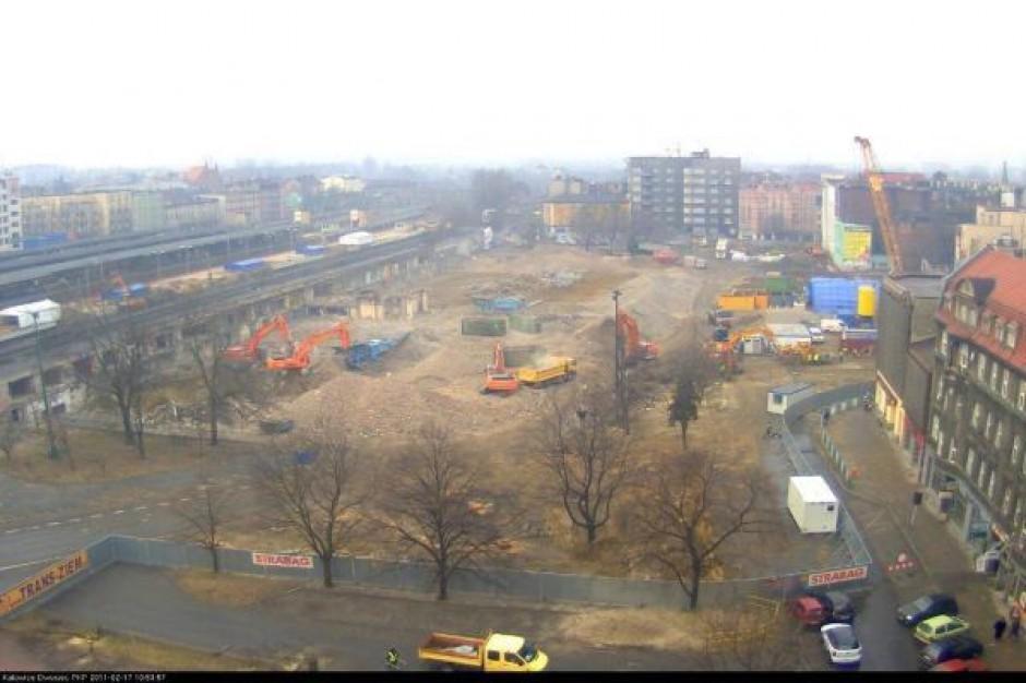 Ekspresowa budowa katowickiego dworca