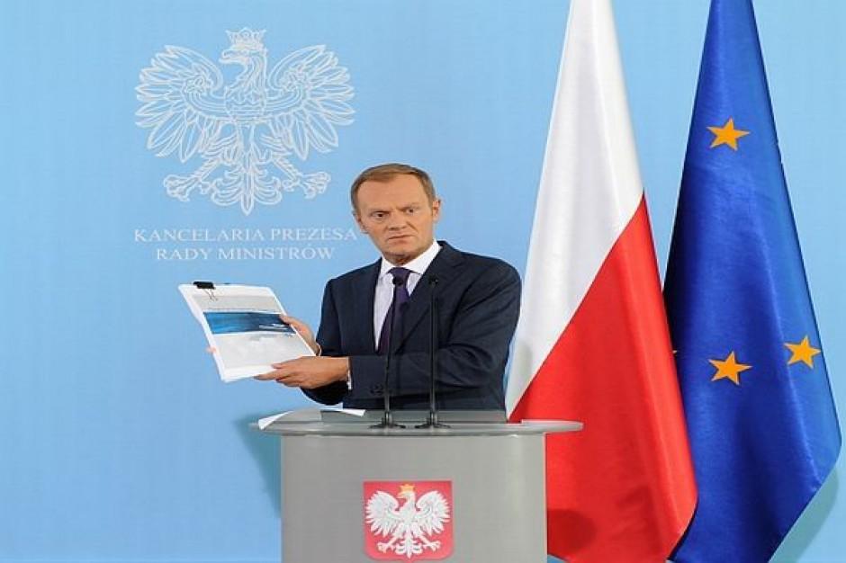 Prezydent powołał rząd Donalda Tuska