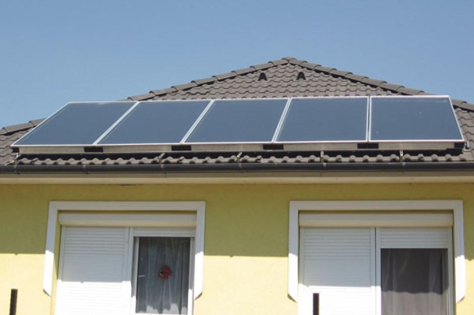 Domy ogrzewane solarnie na Mazowszu