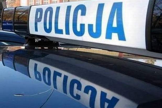 Policja autostradowa przy A2