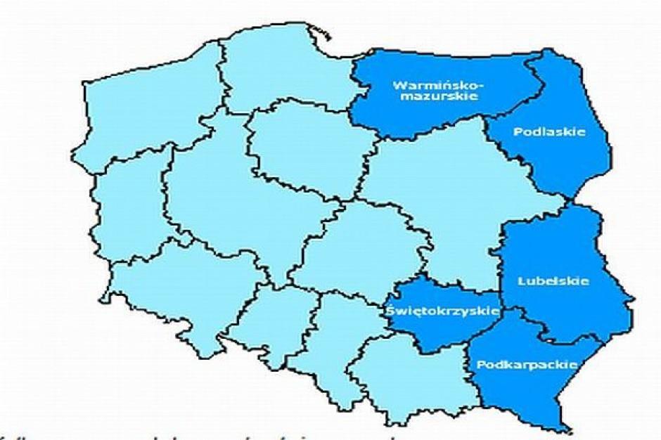Program Rozwoju Polski Wschodniej monitorowany