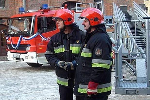 Sprzęt dla toruńskich strażaków