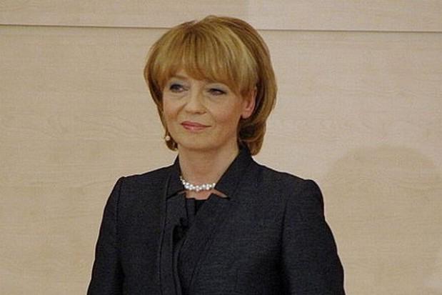 Zdanowska nie powiesi ministra za szybką kolej