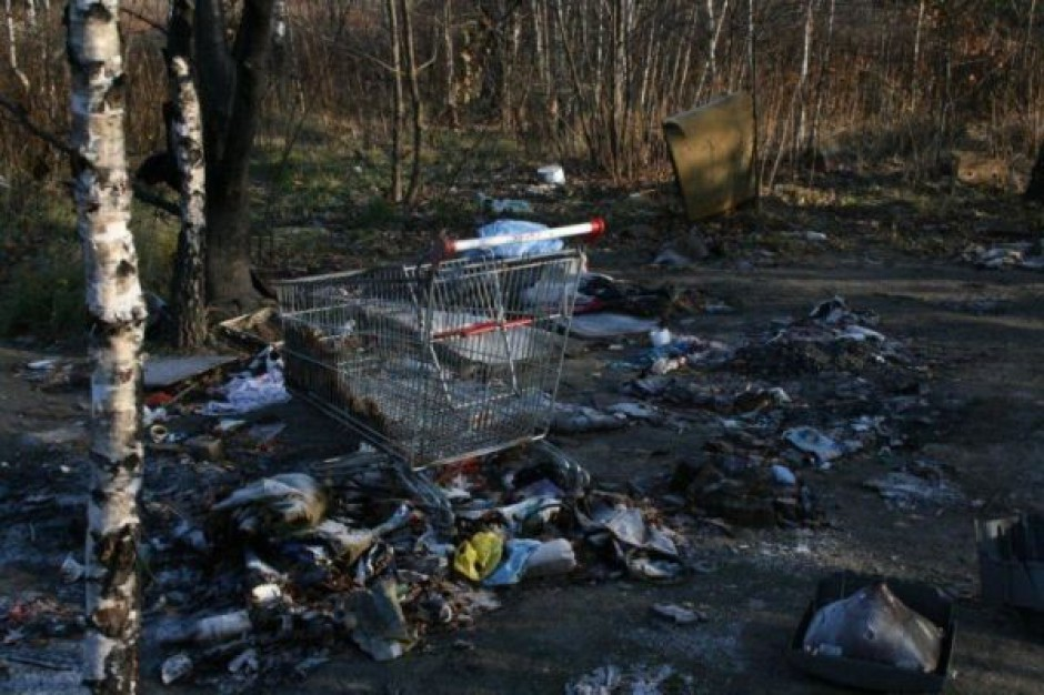 5 ton śmieci z ekologicznej niedzieli w Łodzi