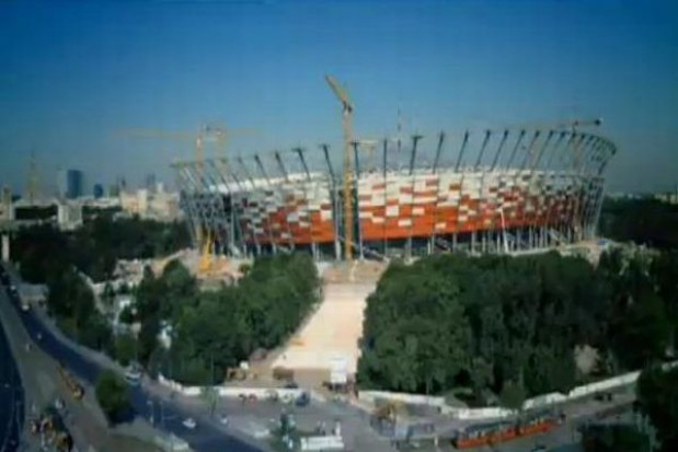 Zobacz jak powstawał Stadion Narodowy