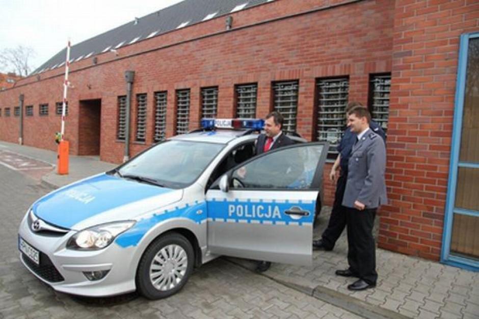 Nowy radiowóz dla sopockiej policji