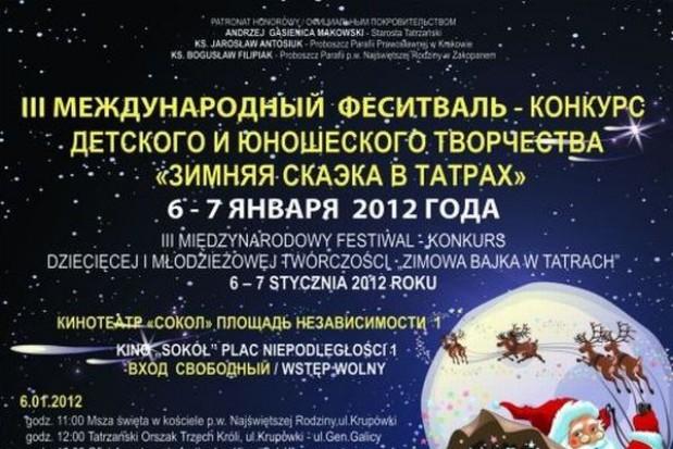 Polsko-rosyjski festiwal twórczości w Zakopanem