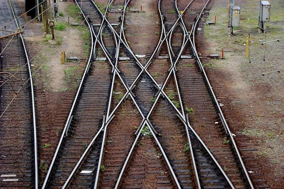 Budowa kolei metropolitalnej jesienią 2012 r.