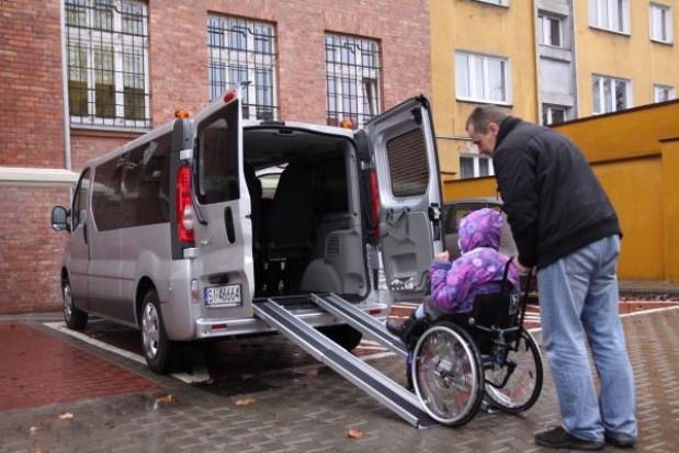 Nowy samochód do przewozu niepełnosprawnych