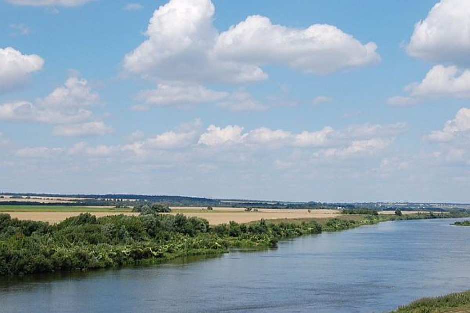 Pływający pomost w gminie Łapy