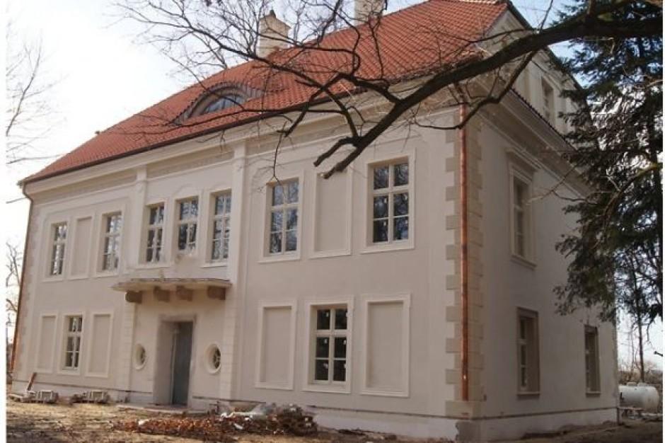 Unijna dotacja ratuje renesansowy pałac