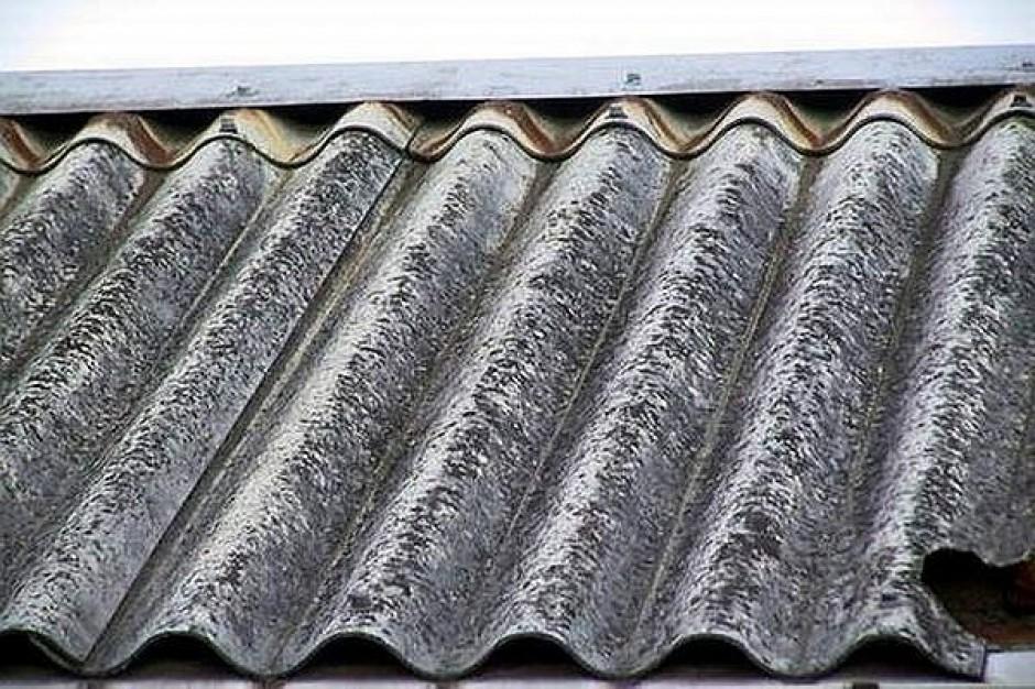 Złóż wniosek i pozbądź się azbestu