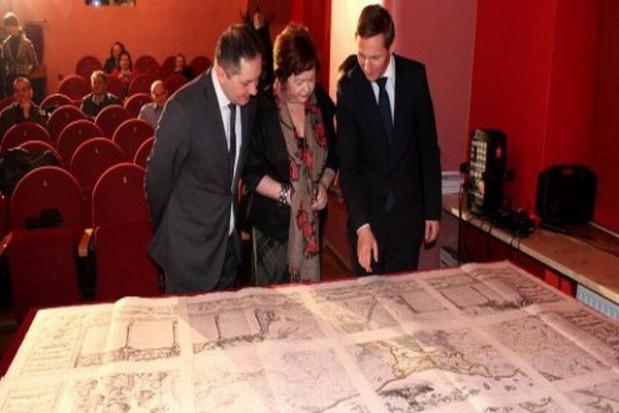 Mapa Lubinusa wróciła do Szczecina