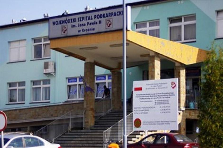Troska o krośnieński szpital