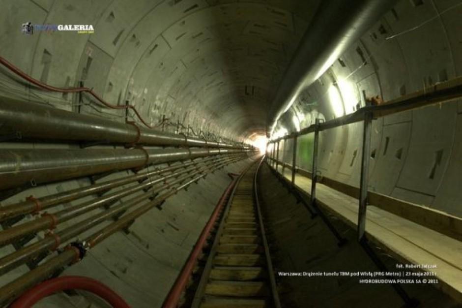 Tunel pod Wisłą wydrążony. Tak to wyglądało...