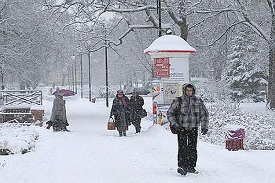 W Toruniu walczą ze śniegiem