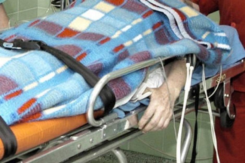 Problem z bezdomnymi w szpitalach