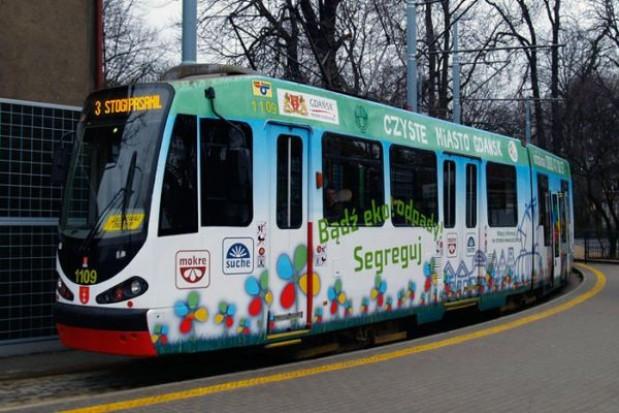 Ekologiczny tramwaj w Gdańsku